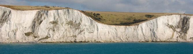 Biały klif runął do Kanału La Manche