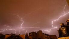 Skutki nocnych burz w Czechach