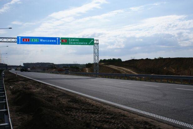 Odcinek B autostrady A2 Mostostal