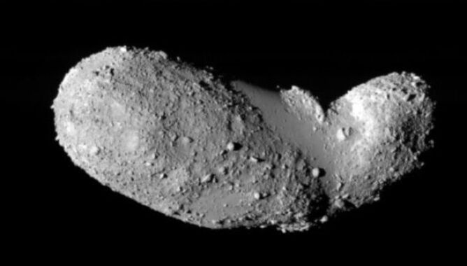 Asteroida Itokawa (ISAS/JAXA)