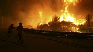 W Portugalii znów szaleją płomienie. Dramatyczny przebieg akcji ratunkowej