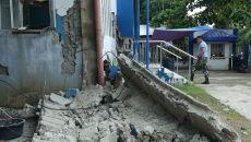 Trzęsieni ziemi na Filipinach (PAP/EPA/CERILO EBRANO)