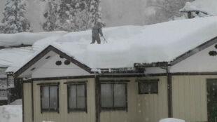 Miejscami spadło 120 centymetrów śniegu. Zima w Japonii