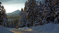 Wschód słońca nad Tatrami (Jadwiga Labocha)