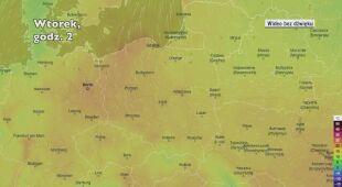 Temperatura w ciągu najbliższych pięciu dniu (Ventusky.com)