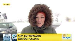 Utrudnienia na Lubelszczyźnie (TVN24)