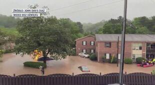 Powódź błyskawiczna w Alabamie