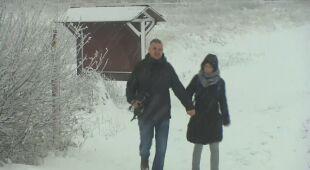 W Belgii spadł pierwszy śnieg