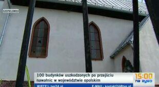 Zniszczenia w Czepielowicach /TVN24